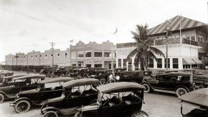 Parking de casino à Miami en Floride dans les années 20